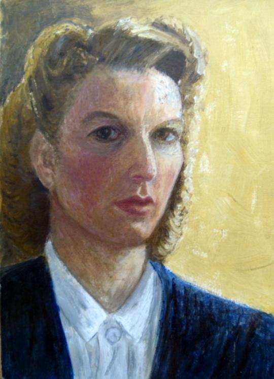 MY AUNT RACHEL MILNER  (PAINTER UNKNOWN)