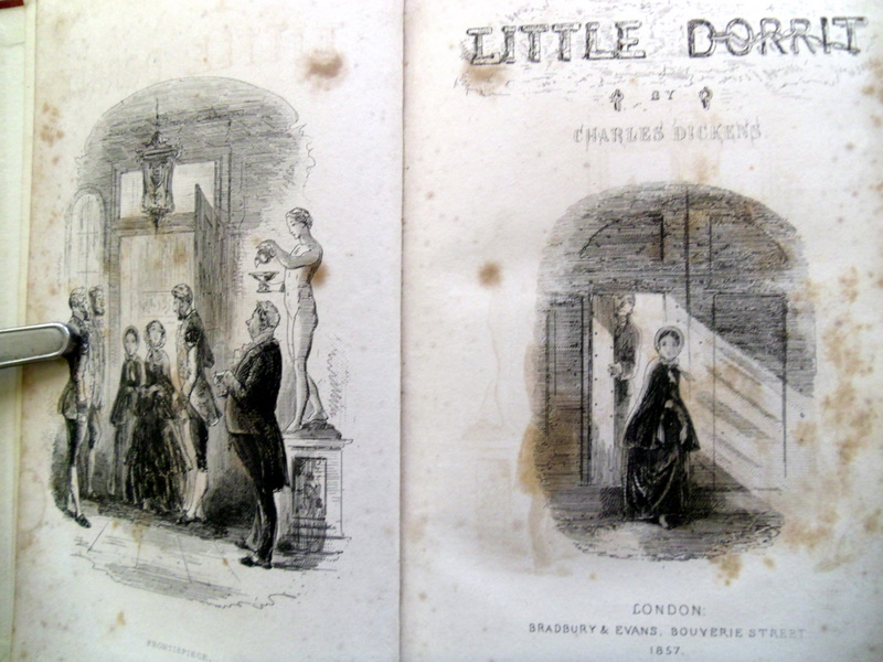 I have a first edition of Little Dorrit (2/4)