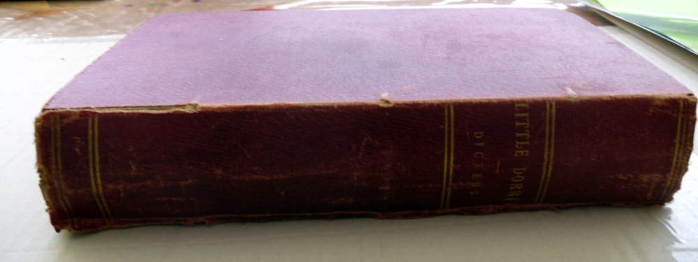 I have a first edition of Little Dorrit (1/4)