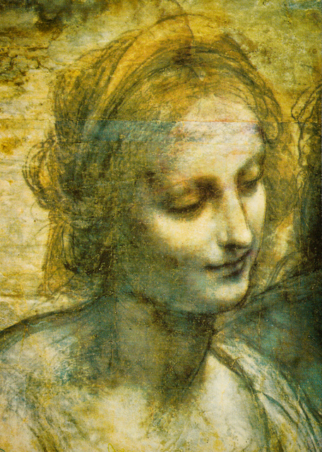 DETAIL OF CARTOON by LEONARDO DA VINCI
