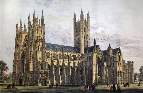 Canterbury Cathedral Large Restrike Etching by Anonymous http://www.easyart.com/scripts/zoom/zoom.pl?pid=37556